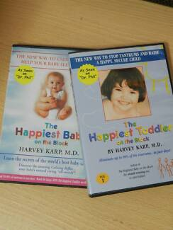 Happiest Baby and Toddler on the Block DVDs