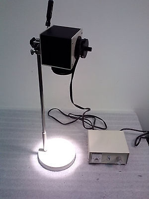 Nikon Microscope Illuminator W Stand And Hitachi Power Supply