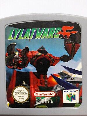 NINTENDO N64. LYLAT WARS, PAL CART ONLY, FULLY WORKING