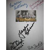 The Honeymooners Signed TV Script X5 Jackie Gleason Art Carney Audrey Meadows RP