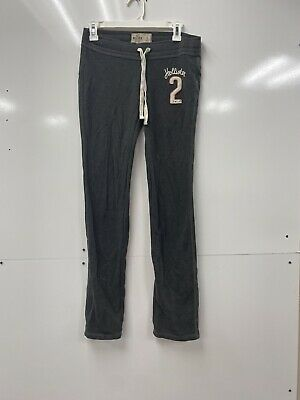 Hollister Womens Sweat Pants Sweats Gray Size S
