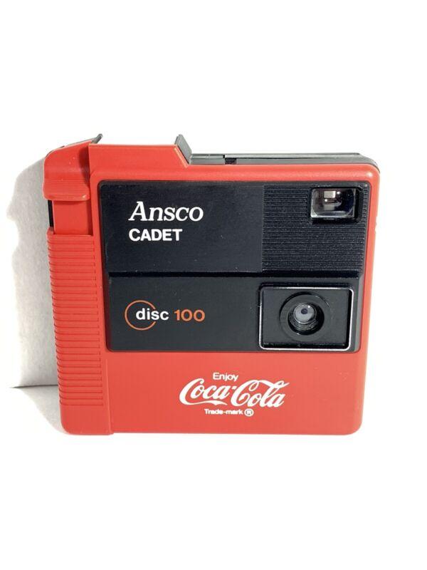 Ansco Cadet Coca Cola Disc 100 Camera Advertising