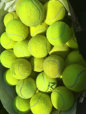 30 Used Tennis Balls - Decent Condition - Very Clean