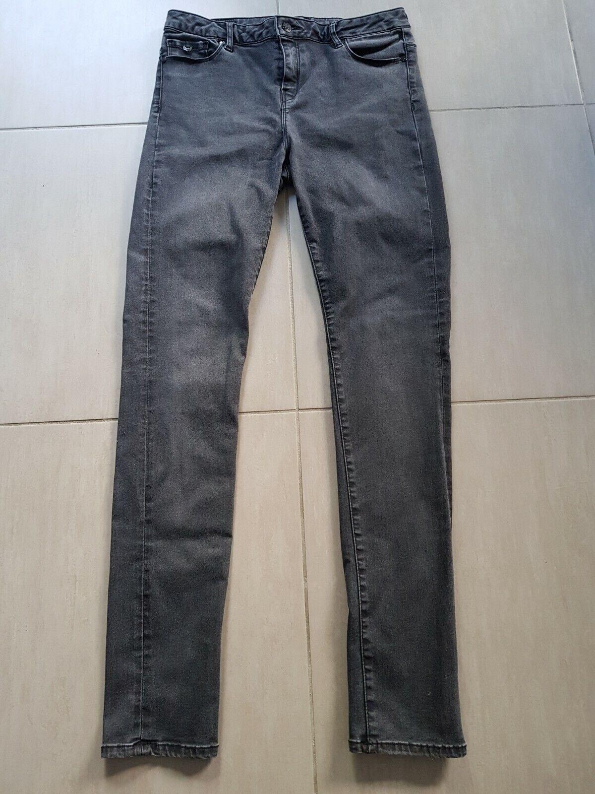 Pantalon jean skinny noir - kaporal 5 - taille 39 fr / us 29
