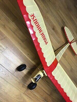 """Powerhouse 84"""" Span Vintage RC Plane"""