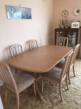 Extendable Dining table & 6 Chairs Springvale Greater Dandenong Preview
