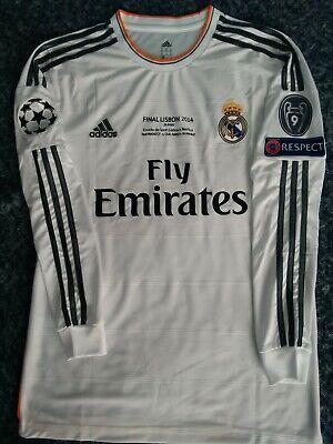 Sergio Ramos Real Madrid Final 2014 Champions League jersey retro shirt camiseta
