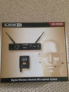Digital wireless Mic headset