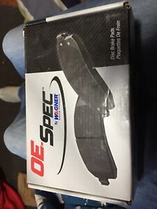 2007 Honda Civic Rear Disc brake pads