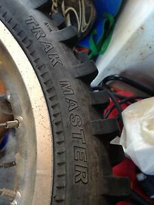 Trak master tire for sale