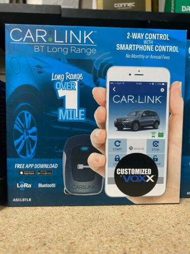 Voxx Code Alarm Part #- ASCLBTLR Carlink Bluetooth Remote Start
