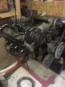 Chevy truck 1994 350 ci fuel injected motor