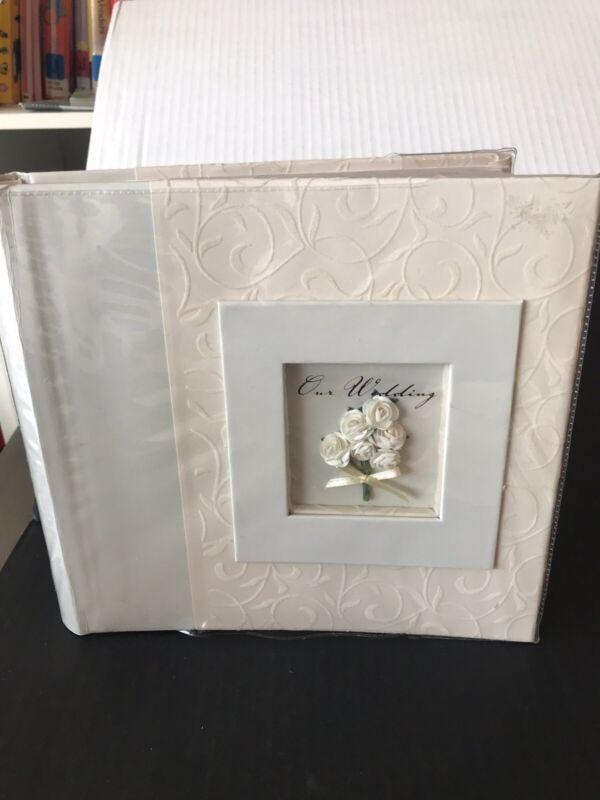 WEDDING PHOTO ALBUM NEW HOLDS 200 PICS
