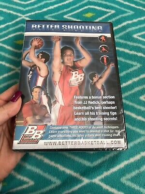 Better Shooting 2 2nd DVD VIDEO MOVIE JJ Redick learn basketball techniques