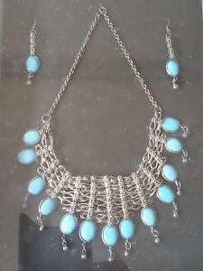 Native American hand crafted necklace and Earings Stanthorpe Southern Downs Preview
