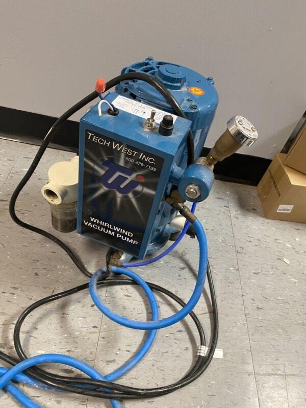 Tech West Liquid Ring Vacuum System 2 HP