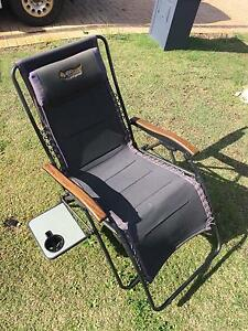 Oztrail sun lounge cooge (reclining camping chair) Madora Bay Mandurah Area Preview