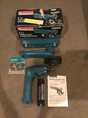 Makita Cordless Circular Saw 5090d Makita 9.6v Drill Driver 6093d