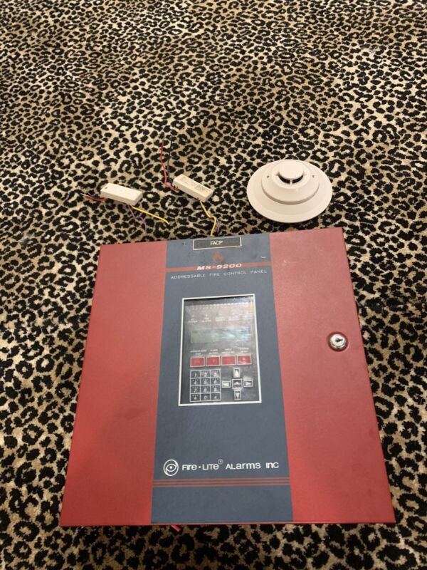 Firelite MS9200 Fire Alarm Control Panel