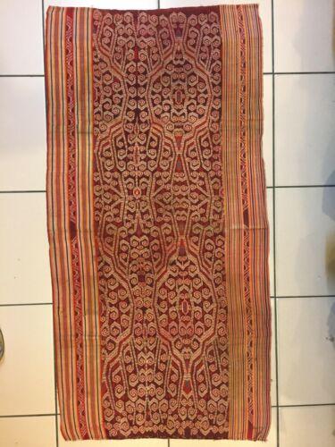 B25# Traditional Iban OLD Bidang Kebat Ikat Rajah River Sarawak Borneo