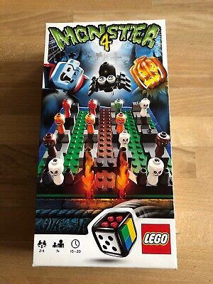 Monster 4 Lego Board Game Halloween Games Number 3837 Complete