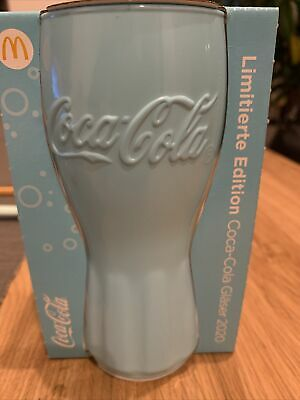 McDonald's Coca Cola Glas TÜRKIS Mc Donalds Limitiert Edition 2020 Neu & OVP