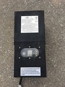 Programmable Outdoor Timer
