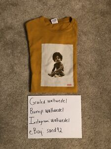 254b9a4b9f9 Supreme Biggie Smalls Ready to Die Tee Large Gold FW11 2011