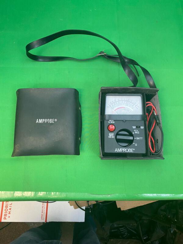 Amprobe AMB-2 Insulation Resistance Tester Analog Megohmmeter