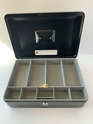Sentry Lockable Cash Box With Key Metal Cashbox With Key