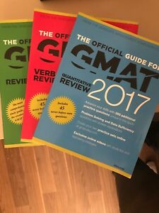 GMAT 2017 full book set