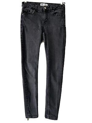 Ladies Woman's ZARA Grey Skinny Jeans Size 10