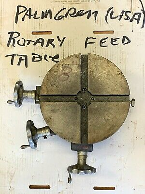 Palmgren Rotary Table 8 2 Axis - Item 1099