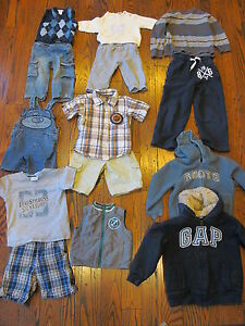 Boys clothing from newborn to 10 years, shoes, $1.00 a piece +