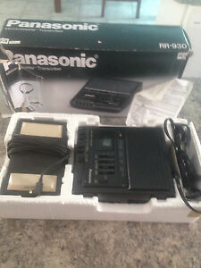 Panosonic Microcassette Recorder
