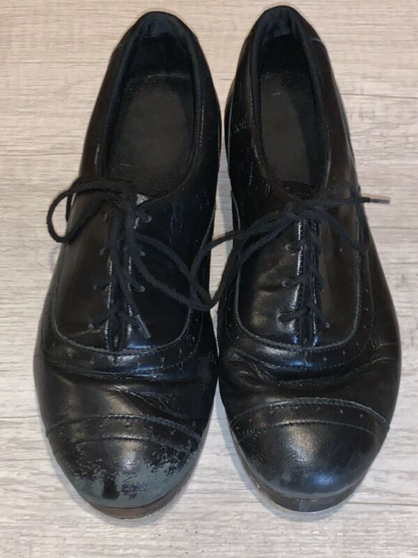 Jason Samuels Smith Bloch Tap Dance Shoes Women's Sz 8