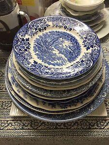 Antique Collectors Plates England Blue and White Caloundra West Caloundra Area Preview