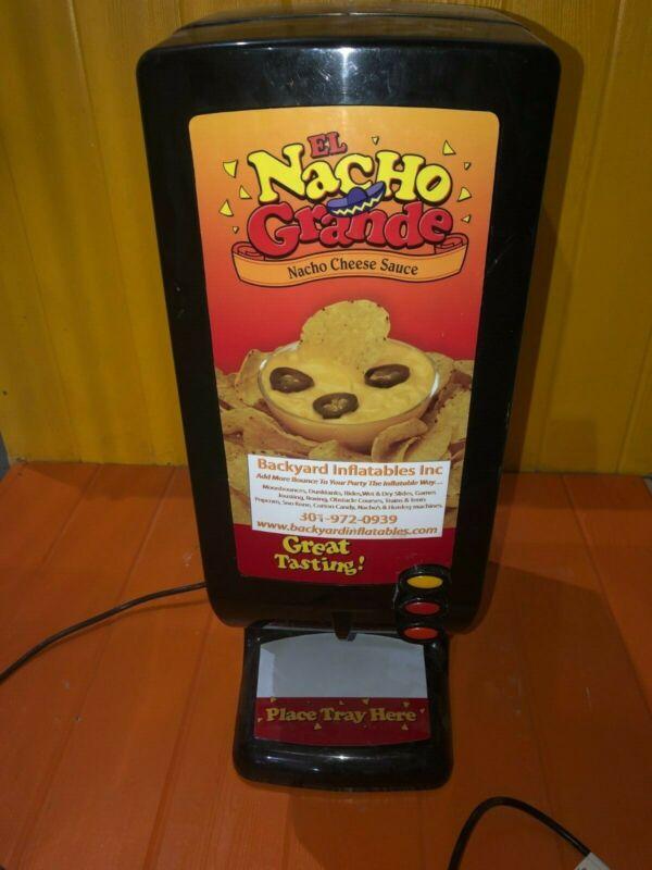 El Nacho Grande Nacho Cheese Dispenser And Warmer Gold Medal 5300