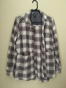 Women's medium Roots flannel