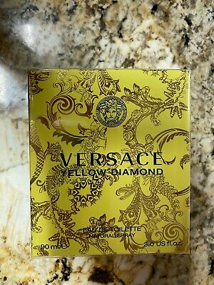 VERSACE YELLOW DIAMOND Perfume 3.0 oz women edt NEW IN BOX