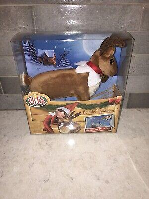 Elf on the Shelf Elf Pets Christmas Reindeer Plush Toy Figure & Book Set New