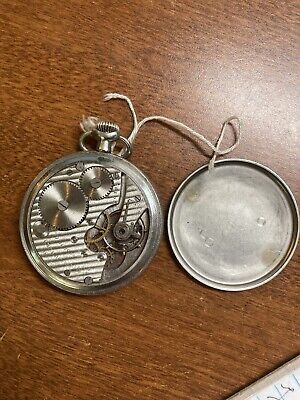 50mm INGERSOLL Reliance Pocket Watch For Parts