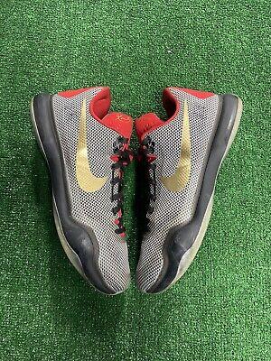"Nike ID Custom Kobe X 10 ""Anthracite Gold"" Size 14 *777411-992*"