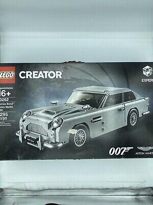 Lego Creator James Bond Aston Martin DB5 Set 10262 Brand New. Open Box/Complete
