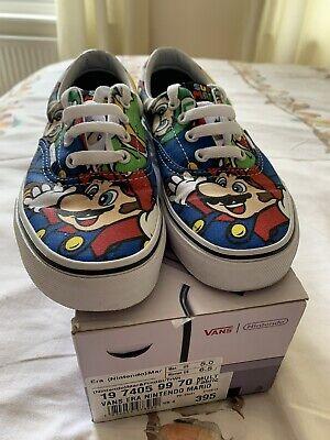 Vans Era Nintendo Mario  Size 4