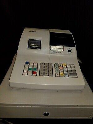 Samsung Er-290 Cash Register Showing E-1 Error - No Keys 2