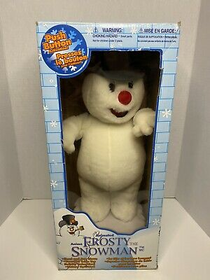 GEMMY Animated Frosty The Snowman Musical Toy Display 1999