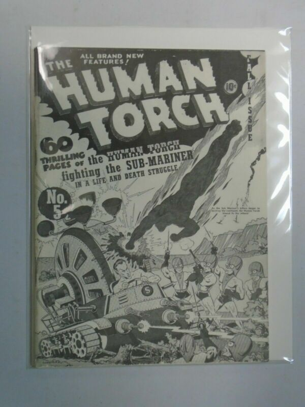 Flashback #2 Human Torch #5 1941 reprint 6.0 FN (1971 DynaPubs)