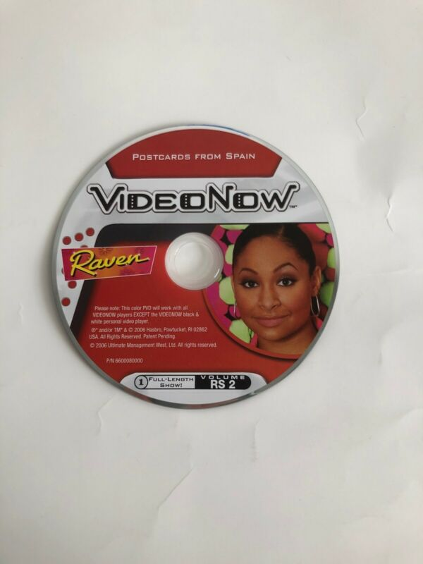 VideoNow Raven Postcards From Spain Full-Length Show Disc Only