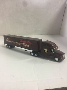 1/64 scale Tim Hortons diecast tractor trailer.
